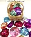 Foil Wrapped Sea Shells in Basket Favor