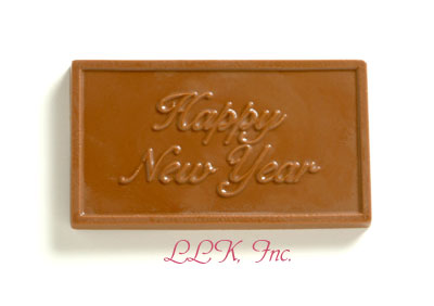 happy new year chocolate greeting card 350